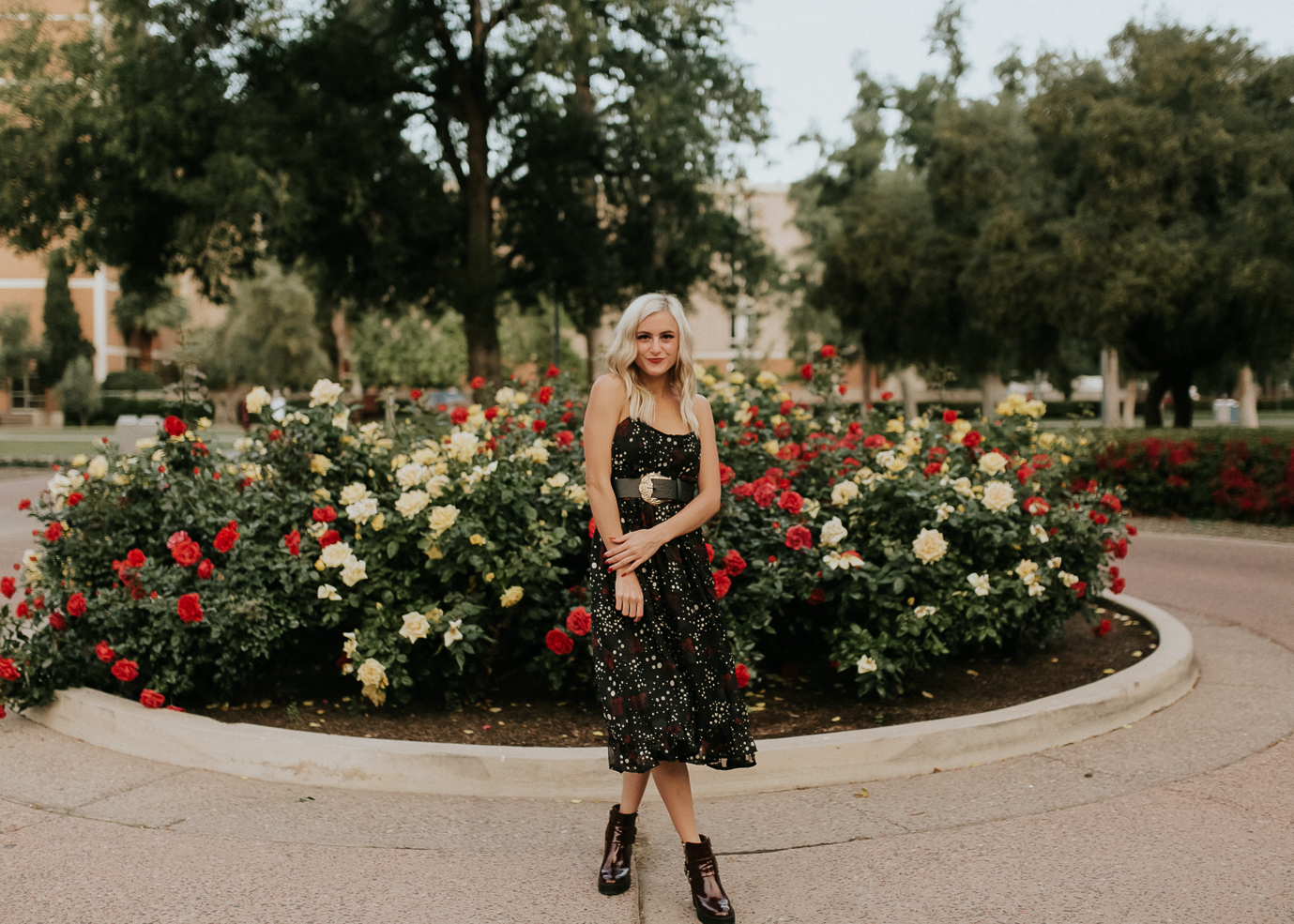 Megan Claire Photography | Phoenix Arizona Wedding and Engagement Photographer. Arizona State University grad photoshoot. College Graduation photos at Old Main ASU @meganclairephoto